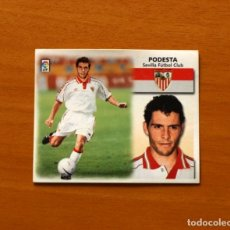 Cromos de Fútbol: SEVILLA - FICHAJE Nº 34 - PODESTA - EDICIONES ESTE 1999-2000, 99-00 - NUNCA PEGADO. Lote 176077419