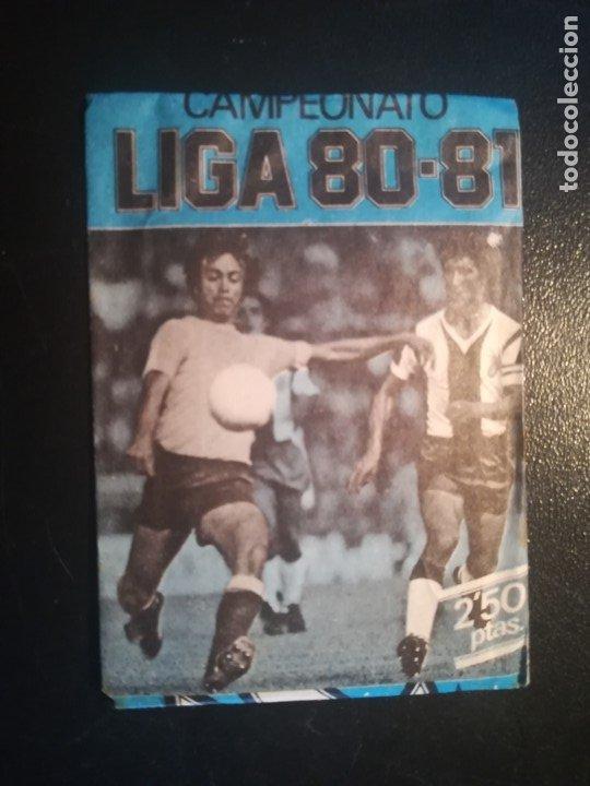 ESTE LIGA 80/81 1980/81 AZUL SOBRE NUEVO SIN ABRIR (Coleccionismo Deportivo - Álbumes y Cromos de Deportes - Cromos de Fútbol)