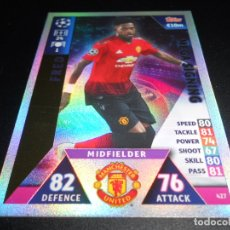 Cromos de Fútbol: 427 FRED MEGA SIGNING MANCHESTER UNITED CARDS CHAMPIONS LEAGUE TOPPS ATTAX 18 19 2018 2019. Lote 176216688