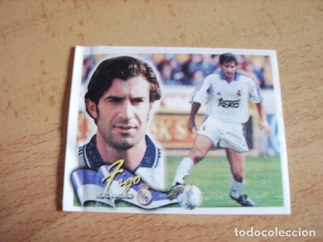 ESTE 00-01 COLOCA FIGO R.MADRID VENTANILLA (Coleccionismo Deportivo - Álbumes y Cromos de Deportes - Cromos de Fútbol)