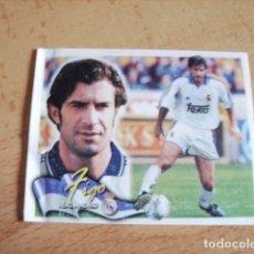 Cromos de Fútbol: ESTE 00-01 COLOCA FIGO R.MADRID VENTANILLA. Lote 176217802