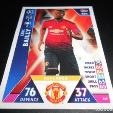 Cromos de Fútbol: 169 ERIC BAILLY MANCHESTER UNITED CARDS CROMOS CHAMPIONS LEAGUE TOPPS ATTAX 18 19 2018 2019. Lote 176217807