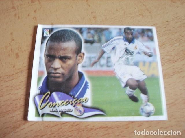 ESTE 00-01 COLOCA CONCEICAO R.MADRID VENTANILLA (Coleccionismo Deportivo - Álbumes y Cromos de Deportes - Cromos de Fútbol)