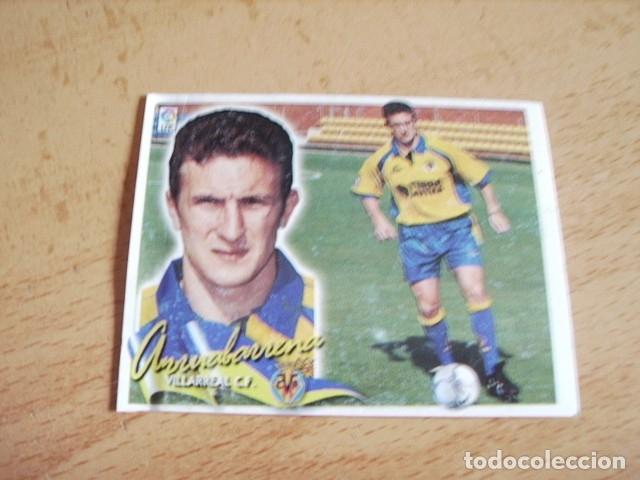 ESTE 00-01 COLOCA ARRUABARRENA VILLARREAL VENTANILLA (Coleccionismo Deportivo - Álbumes y Cromos de Deportes - Cromos de Fútbol)