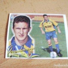 Cromos de Fútbol: ESTE 00-01 COLOCA ARRUABARRENA VILLARREAL VENTANILLA. Lote 176218057