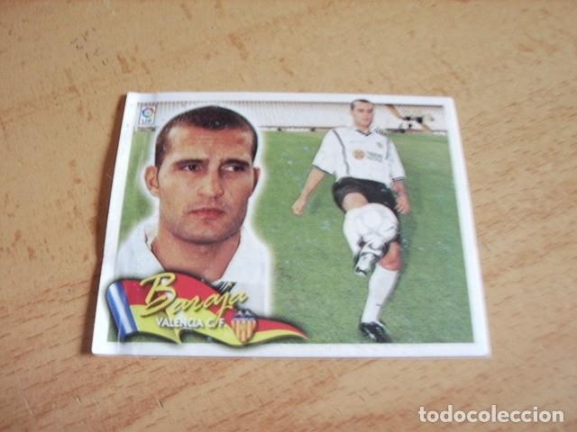 ESTE 00-01 COLOCA BARAJA VALENCIA VENTANILLA (Coleccionismo Deportivo - Álbumes y Cromos de Deportes - Cromos de Fútbol)