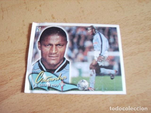 ESTE 00-01 COLOCA CATANHA CELTA VENTANILLA (Coleccionismo Deportivo - Álbumes y Cromos de Deportes - Cromos de Fútbol)