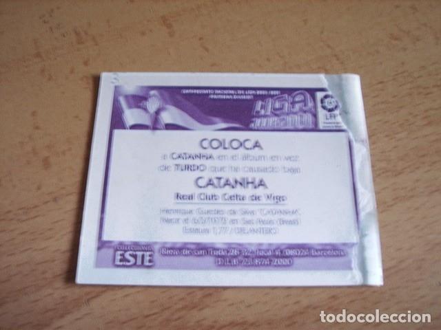 Cromos de Fútbol: ESTE 00-01 COLOCA CATANHA CELTA VENTANILLA - Foto 2 - 176218588