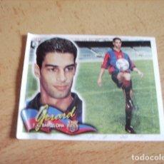 Cromos de Fútbol: ESTE 00-01 COLOCA GERARD BARCELONA VENTANILLA. Lote 176218735