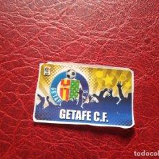 Cromos de Fútbol: ESCUDO GETAFE CHICLE LIGA 11 12 CROMO FUTBOL 2011 2012 - SIN PEGAR - . Lote 176234850