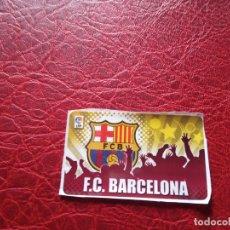 Cromos de Fútbol: ESCUDO BARCELONA CHICLE LIGA 11 12 CROMO FUTBOL 2011 2012 - SIN PEGAR - . Lote 176235027