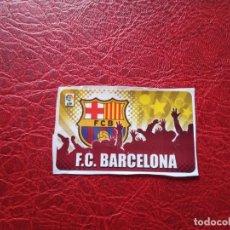 Cromos de Fútbol: ESCUDO BARCELONA CHICLE LIGA 11 12 CROMO FUTBOL 2011 2012 - SIN PEGAR . Lote 176235575