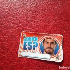 Cromos de Fútbol: IKER CASILLAS REAL MADRID CHICLE LIGA 11 12 CROMO FUTBOL 2011 2012 - SIN PEGAR - . Lote 176236182