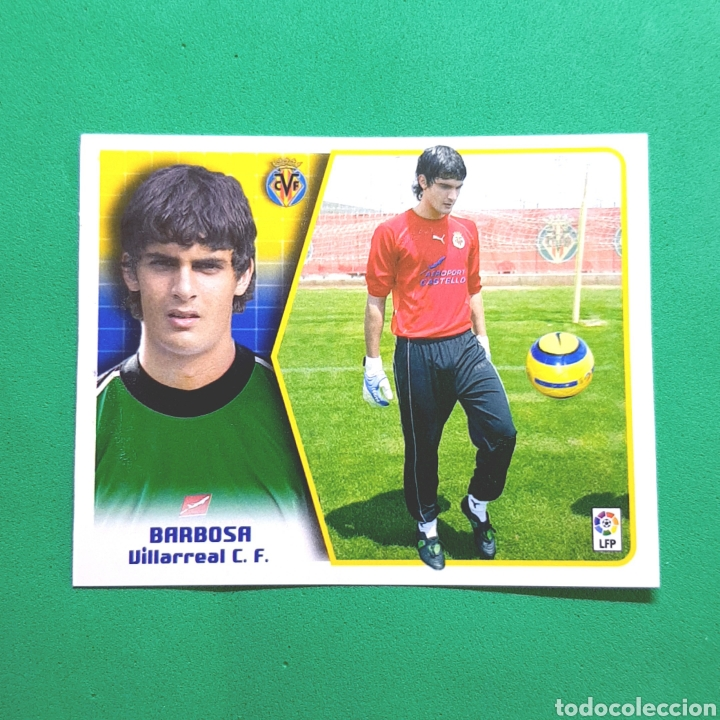 (C-24) CROMO LIGA ESTE - ALBUM 2005-2006 - (VILLARREAL) BARBOSA (Coleccionismo Deportivo - Álbumes y Cromos de Deportes - Cromos de Fútbol)