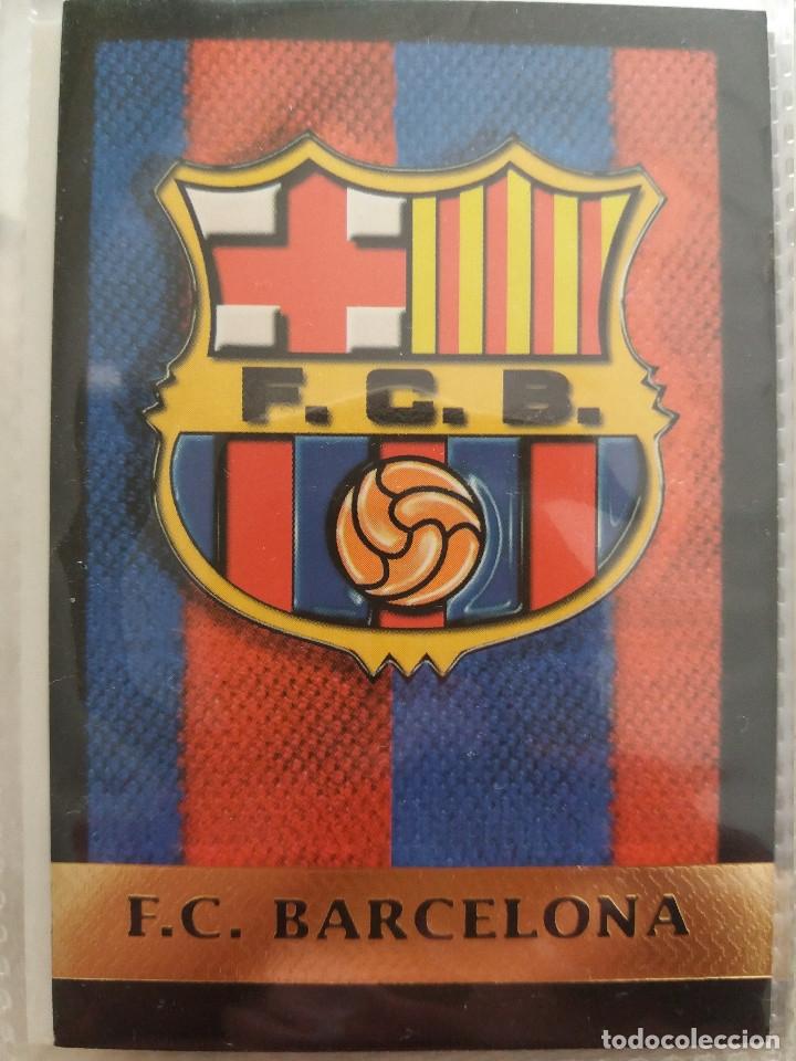1 ESCUDO F.C. BARCELONA - MUNDICROMO 2000 (Coleccionismo Deportivo - Álbumes y Cromos de Deportes - Cromos de Fútbol)