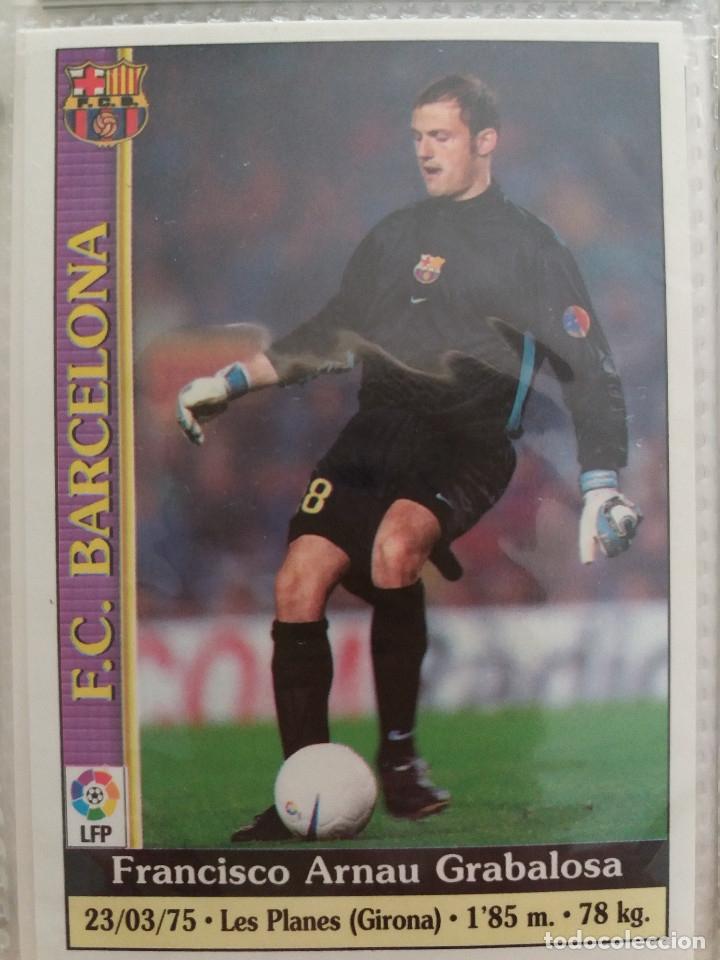 4 ARNAU - F.C. BARCELONA - MUNDICROMO 2000 (Coleccionismo Deportivo - Álbumes y Cromos de Deportes - Cromos de Fútbol)