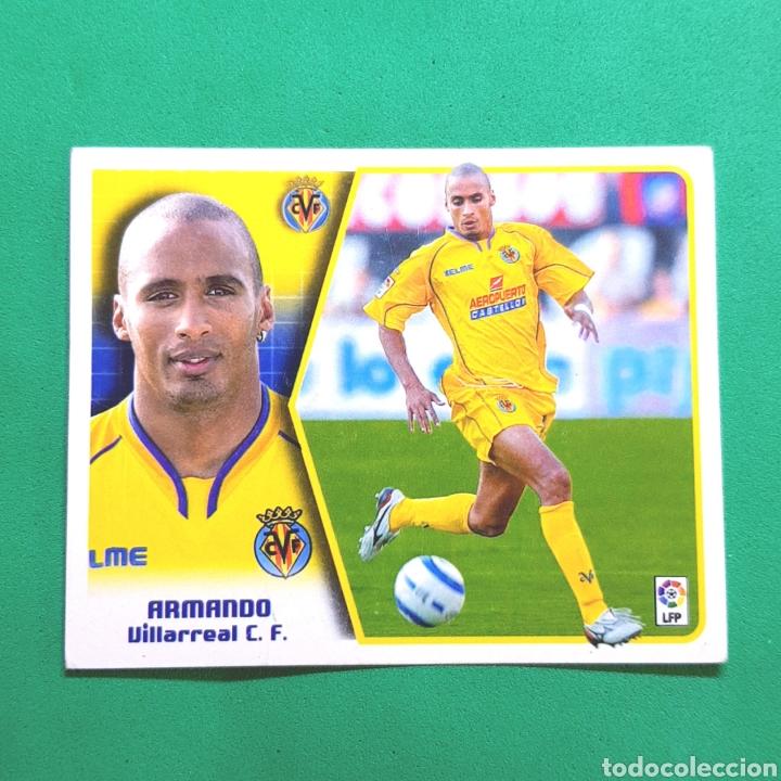 (C-24) CROMO LIGA ESTE - ALBUM 2005-2006 - (VILLARREAL) ARMANDO (Coleccionismo Deportivo - Álbumes y Cromos de Deportes - Cromos de Fútbol)