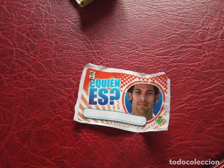 IRINEY REAL BETIS CHICLE LIGA 11 12 CROMO FUTBOL 2011 2012 - SIN PEGAR - ¿ QUIEN ES ? (Coleccionismo Deportivo - Álbumes y Cromos de Deportes - Cromos de Fútbol)