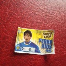 Cromos de Fútbol: PEDRO RIOS GETAFE CHICLE LIGA 11 12 CROMO FUTBOL 2011 2012 - SIN PEGAR . Lote 176273494