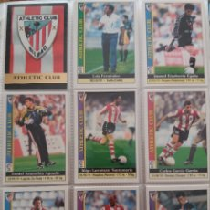 Cromos de Fútbol: 7 FICHAS DISTINTAS DEL ATHLETIC CLUB - MUNDICROMO 2000. Lote 176274213
