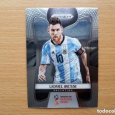 Cartes à collectionner de Football: 1 LIONEL MESSI ARGENTINA / FC BARCELONA PANINI PRIZM WORLD CUP SOCCER 2018 18 NUEVO. Lote 176278882
