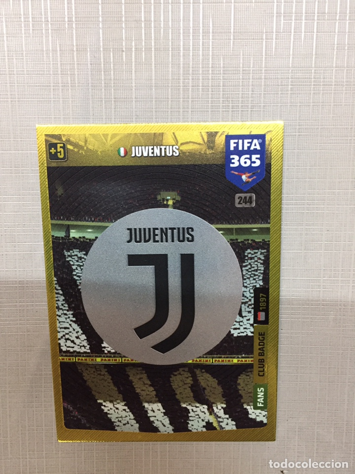 juventus adrenalyn fifa 365 2020 club badge sold through direct sale 176315673 antiques art books and collectables