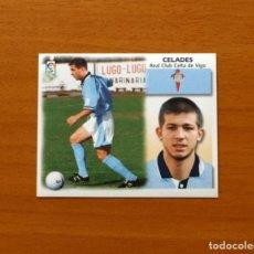 Cromos de Fútbol: CELTA DE VIGO - CELADES - FICHAJE Nº 33 - LIGA 1999-2000, 99-00 - EDICIONES ESTE - NUNCA PEGADO. Lote 176334768