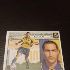 Cromos de Fútbol: EDICIONES ESTE 2001 2002 ESCODA VILLARREAL NUEVO DE SOBRE BAJA. Lote 223981416