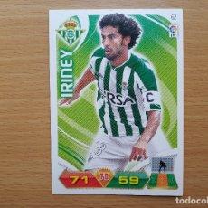 Cromos de Fútbol: 62 IRINEY REAL BETIS PANINI ADRENALYN XL 2011 2012 LIGA 11 12 CROMO FUTBOL. Lote 176398249
