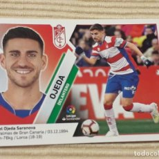 Cromos de Fútbol: CROMO Nº 13 OJEDA (GRANADA C.F.) LIGA 19-20 (2019 2020) ÁLBUM ESTE. Lote 184264513