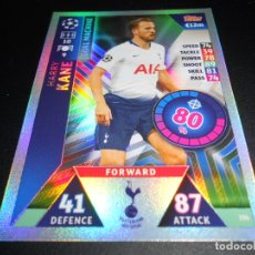 Cromos de Fútbol: 196 HARRY KANE TOTTENHAM HOTSPUR CARDS UEFA CHAMPIONS LEAGUE TOPPS ATTAX 18 19 2018 2019. Lote 176422113