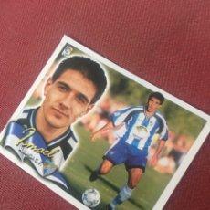 Cromos de Fútbol: ESTE 00 01 2000 2001 MALAGA VENTANILLA COLOCA ISMAEL. Lote 176481240