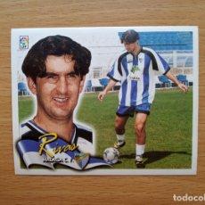 Cromos de Fútbol: FICHAJE 35 RIVAS MALAGA CF EDICIONES ESTE 2000 2001 LIGA 00 01 CROMO SIN PEGAR NUNCA PEGADO. Lote 176602502