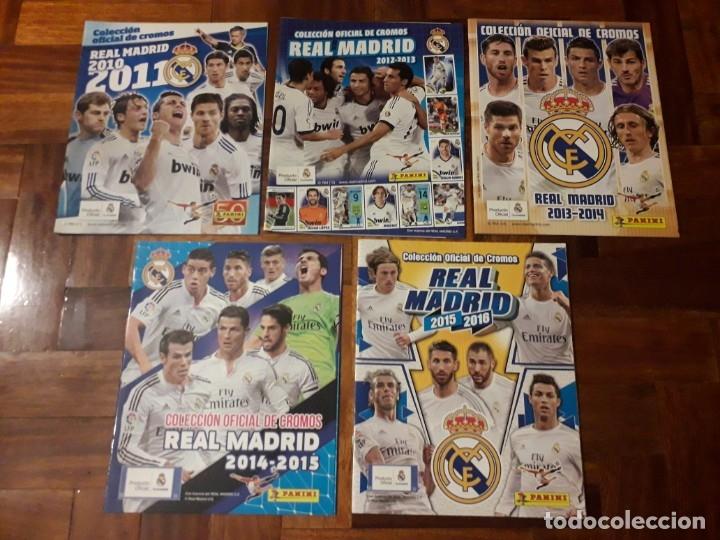 ÁLBUMES VACIOS COLECCIÓN OFICIAL REAL MADRID PANINI RONALDO ESTE ADRENALYN MEGACRACKS ALBUM (Coleccionismo Deportivo - Álbumes y Cromos de Deportes - Cromos de Fútbol)