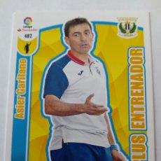 Cromos de Fútbol: ADRENALYN 17 18 LEGANÉS ASIER GARITANO PLUS ENTRENADOR. Lote 176741650
