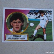 Cromos de Fútbol: ESTE 88 89 FICHAJE Nº 7 ESTEBAN REAL MADRID 1988 1989 NUEVO. Lote 176746640