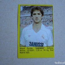 Cromos de Fútbol: ROLLAN SUPER FUTBOL 84 83 CHENDO REAL MADRID 1983 1984 NUEVO. Lote 277242673