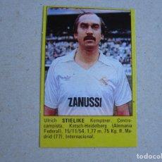 Cromos de Fútbol: ROLLAN SUPER FUTBOL 84 83 STIELIKE REAL MADRID 1983 1984 NUEVO. Lote 277242708