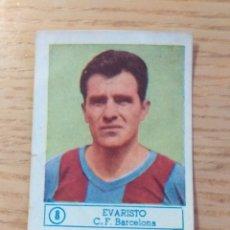 Cromos de Fútbol: FÚTBOL CROMO Nº 8 EVARISTO FC BARCELONA ÁLBUM ASES DEL FÚTBOL FERCA 1959 1960 (DESPEGADO). Lote 176794973