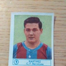 Cromos de Fútbol: FÚTBOL CROMO Nº 9 MARTÍNEZ FC BARCELONA ÁLBUM ASES DEL FÚTBOL FERCA 1959 1960 (DESPEGADO). Lote 176794997