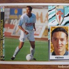 Cromos de Fútbol: CROMO LIGA ESTE 97 98 VIEDMA (COMPOSTELA) - NUNCA PEGADO - FUTBOL 1997 1998. Lote 176860527