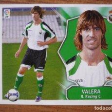 Cromos de Fútbol: ESTE 2008 2009 PANINI FICHAJE Nº 56 VALERA (RACING SANTANDER) - SIN PEGAR CROMO FUTBOL LIGA 08 09. Lote 176925165