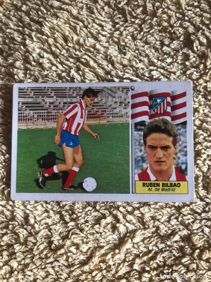 EDICIONES ESTE 86 87 FICHAJE 23 RUBEN BILBAO ATLÉTICO MADRID (Coleccionismo Deportivo - Álbumes y Cromos de Deportes - Cromos de Fútbol)