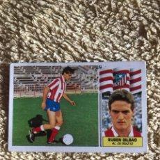 Cromos de Fútbol: EDICIONES ESTE 86 87 FICHAJE 23 RUBEN BILBAO ATLÉTICO MADRID. Lote 176925510