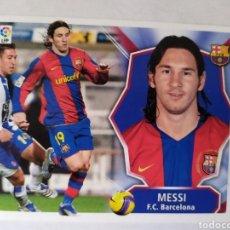 Cromos de Fútbol: MESSI BARCELONA LIGA ESTE 2008 2009 PANINI. Lote 176925868