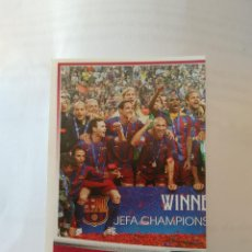 Cromos de Fútbol: Nº 179 PLANTILLA CHAMPIONS PARIS 2006 - CROMO BARCELONA 2007-2008 BARÇA LIGA FÚTBOL 07-08 PANINI. Lote 176926134