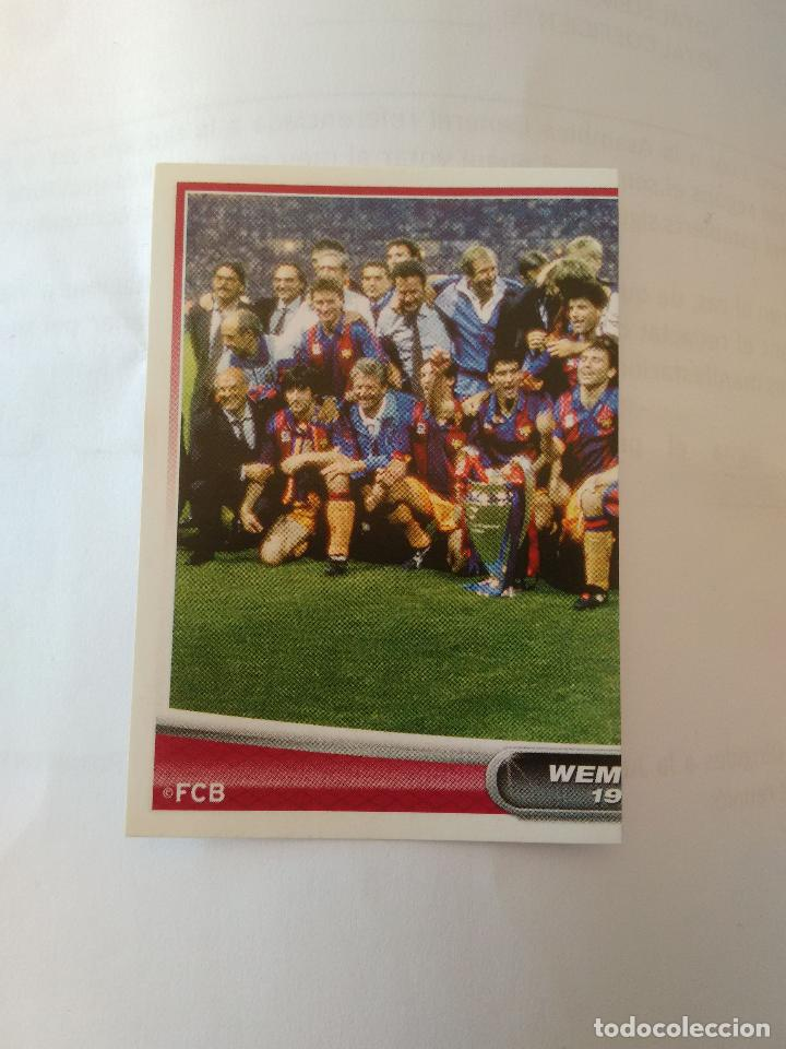 DIFICIL Nº 173 PLANTILLA CHAMPIONS WEMBLEY 1992 - CROMO BARCELONA 2007-2008 BARÇA LIGA 07-08 PANINI (Coleccionismo Deportivo - Álbumes y Cromos de Deportes - Cromos de Fútbol)