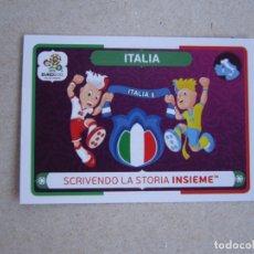 Cromos de Fútbol: PANINI EURO 2012 POLAND UKRAINE Nº 39 LOGO MASCOTA ITALIA POLONIA UCRANIA 12 NUEVO. Lote 278278123