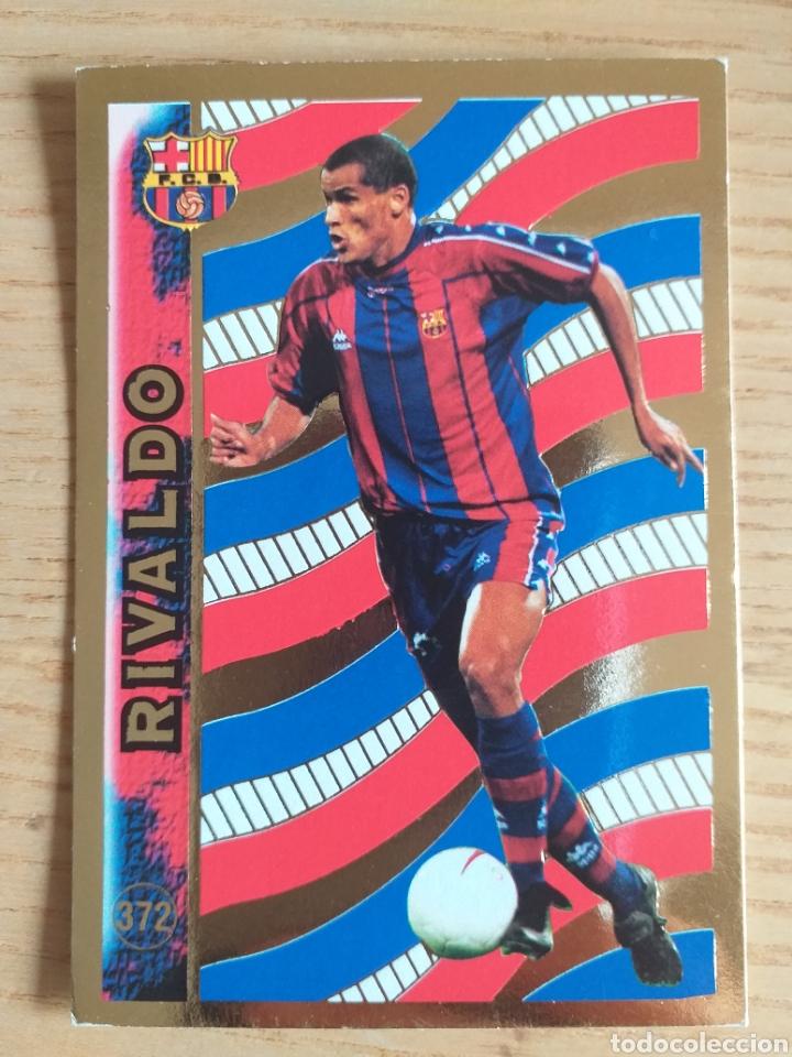 FÚTBOL CROMO Nº 372 RIVALDO F.C. BARCELONA ÁLBUM MUNDICROMO 1998 1999 (Coleccionismo Deportivo - Álbumes y Cromos de Deportes - Cromos de Fútbol)