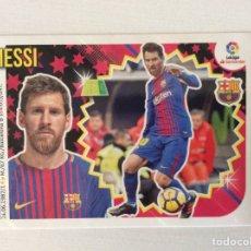 Cromos de Fútbol: LIGA ESTE 2018 2019 18 19. 14 MESSI (FC BARCELONA) #146. Lote 278440983
